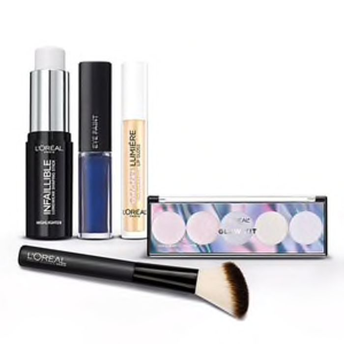 Free L'Oreal Glow Makeup Set GWP with Purchase
