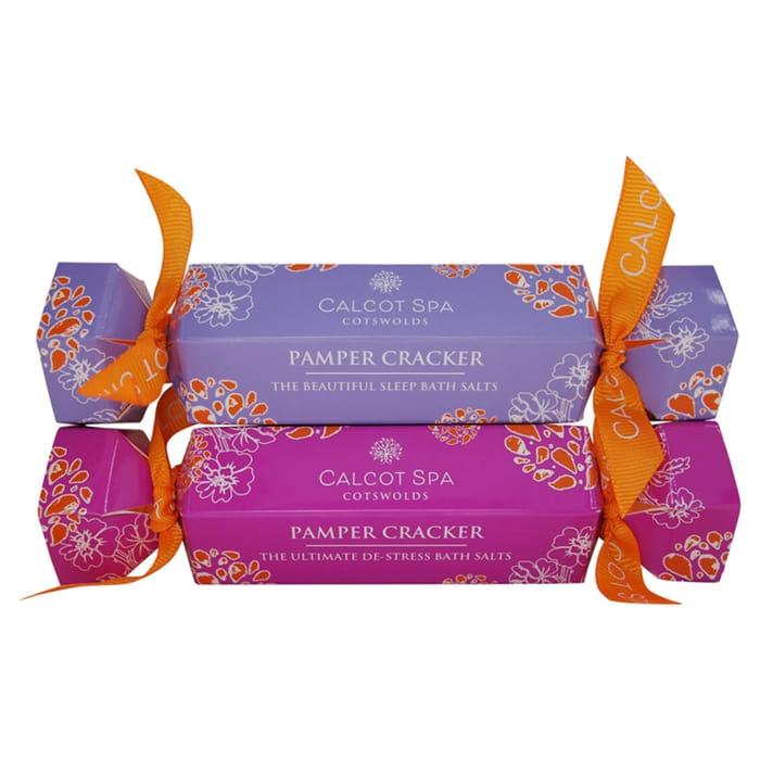 Calcot Spa Bath Salts Pamper Cracker (Secret Santa or Stocking Filler)