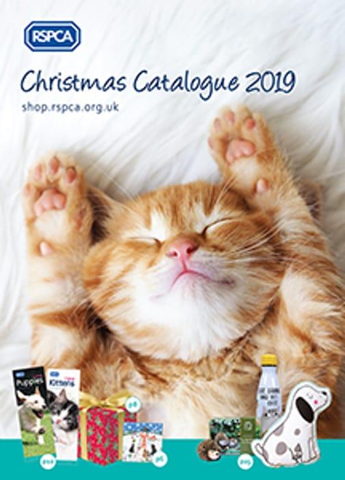Free RSPCA 2019 Christmas Catalogue