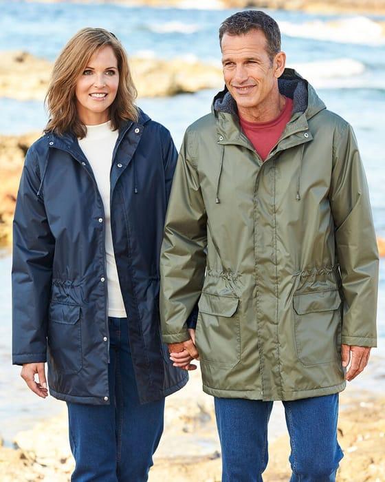 Fleece Lined Waterproof Parka HALF PRICE! *Was £58 NOW £29 with Code