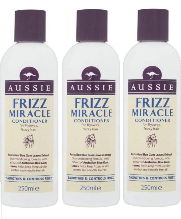 Aussie Frizz Miracle Conditioner 250 Ml (Pack of 3) on Sale From £14.99 to £9.99