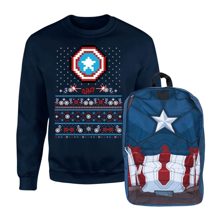 CAPTAIN AMERICA CHRISTMAS BUNDLE RRP: £44.98 Now £19.99