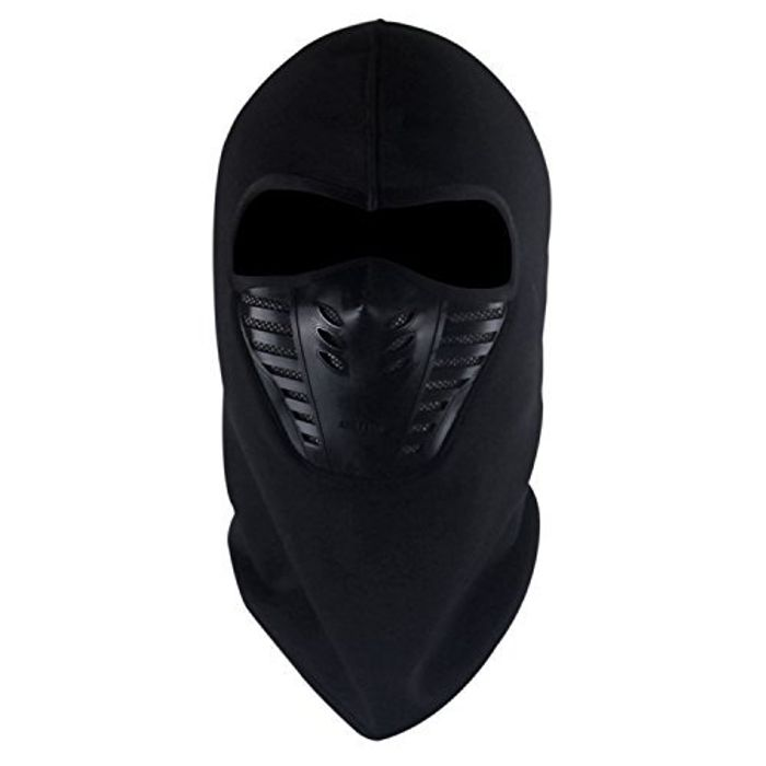 TAGVO Warm Balaclava Full Face Mask Cover with Breathable Mesh Silicone Panel