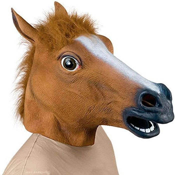 Horse Head Mask - Fancy Dress