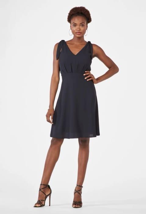 Tie Strap Dress at Justfab