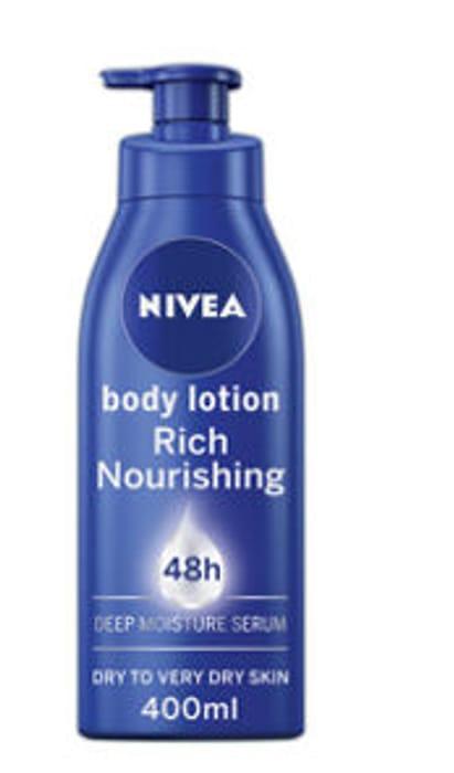 Nivea Rich Nourishing Body Lotion for Dry Skin 400ml £2.35 at Asda