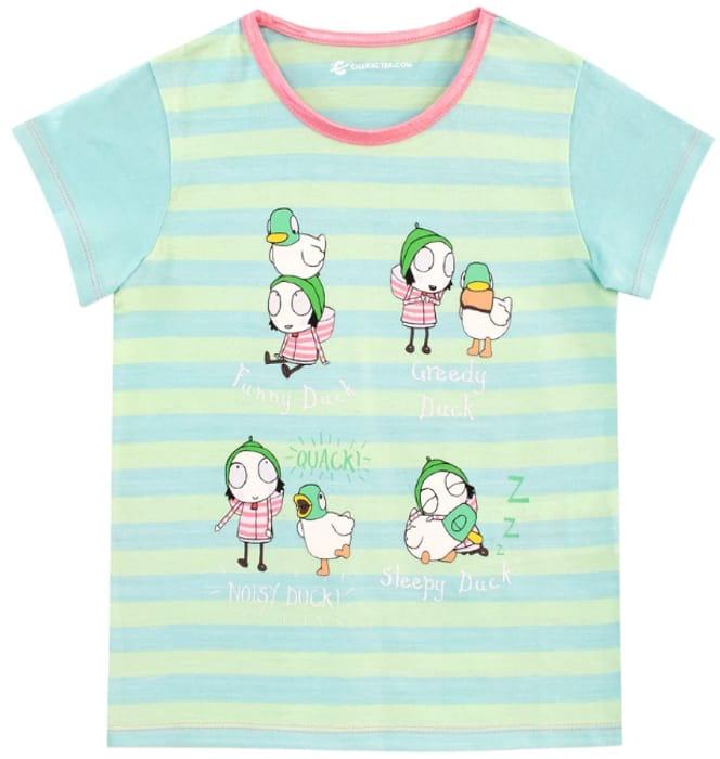 Sarah and Duck Kids T Shirt
