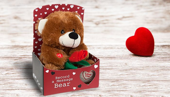 'Record a Message' Love Bear on Sale From £29.99 to £9.99