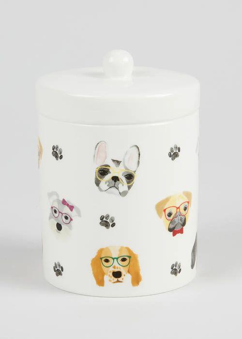 Dog Print Kitchen Canister (Cat Available Also)