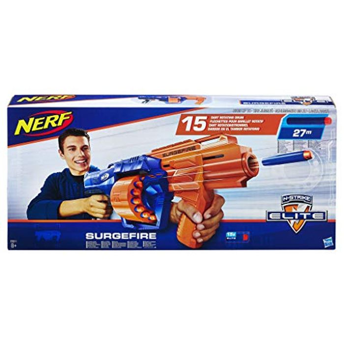Nerf E0011EU5 N-Strike Surgefire, Multi-Colour