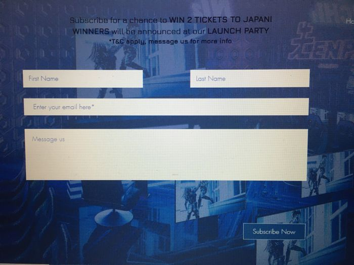 Win 2 Tickets to Japan