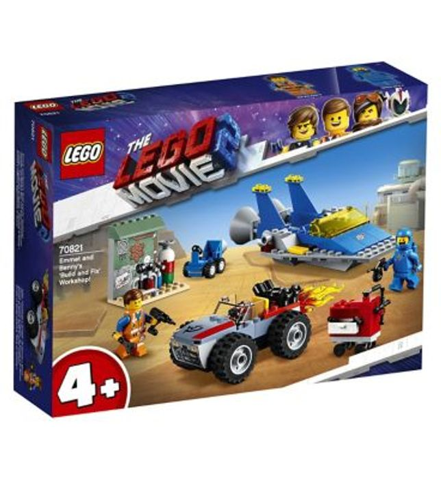 Lego Movie 2 Emmet and Benny's Build and Fix' Workshop 70821