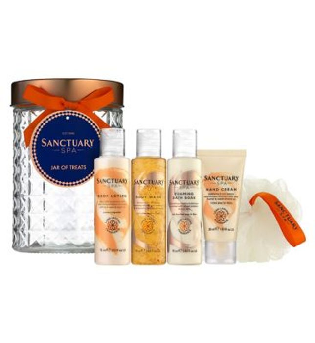 Sanctuary Spa Jar of Treats Down From £10 to £7.5