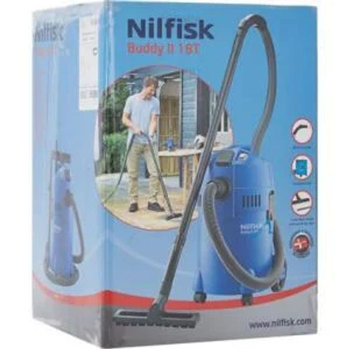 Nilfisk Buddy II Wet & Dry Vacuum 42%off Click and Collect at TK Maxx