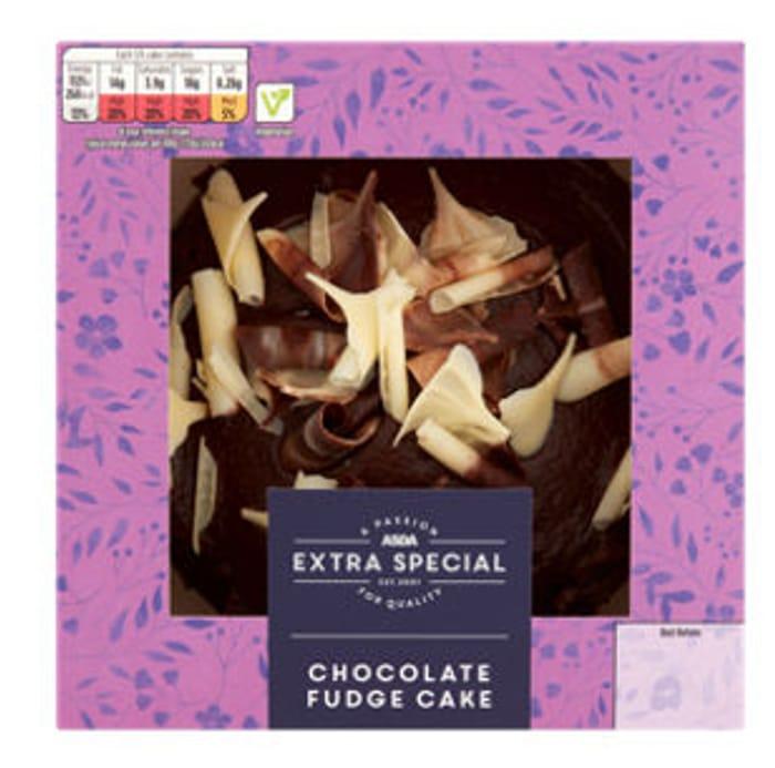 Best Price! ASDA Extra Special Belgian Chocolate Fudge Cake