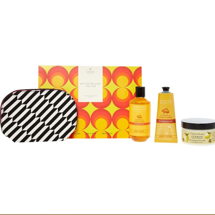 CRABTREE & EVELYN Not so Mellow Yellow Bodycare Gift Set