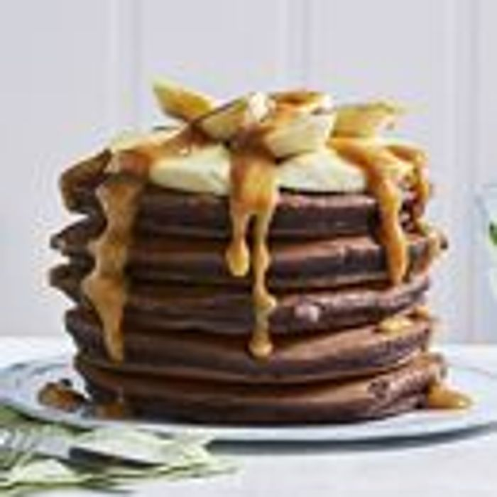 ASDA Double Chocolate Pancakes 5pk