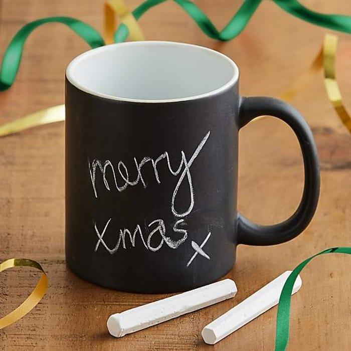 Tea Time! Chalkboard Mug for £3