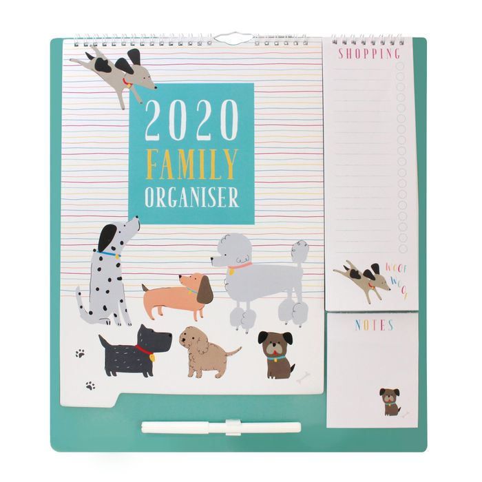 Cheap Dogs Family Organiser, Only £4!
