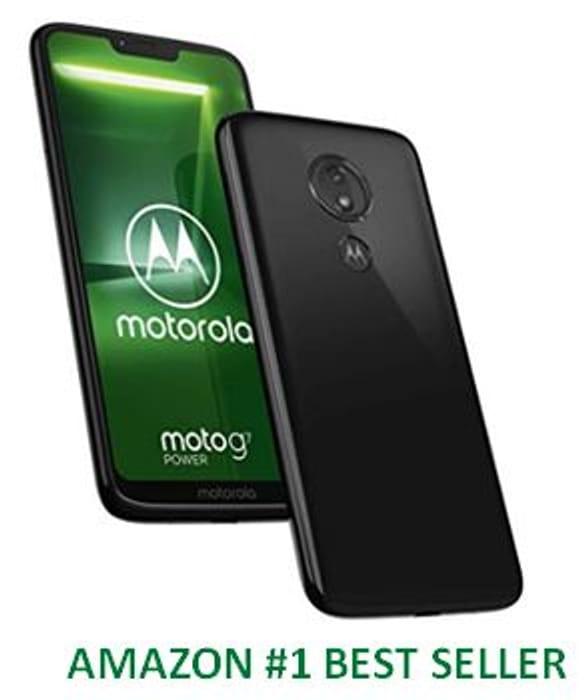 AMAZON #1 Best Seller - Motorola Moto G7 Smartphone 4GB RAM & 64GB Storage