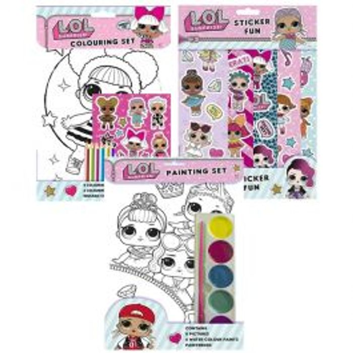 LOL Surprise Activity Bundle *3 for £1 GREAT STOCKING FILLERS!