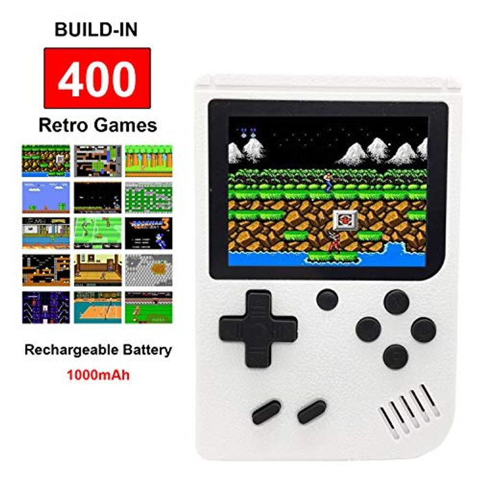 Kids Handheld Retro FC Games Consoles with 400 Classical NES Games