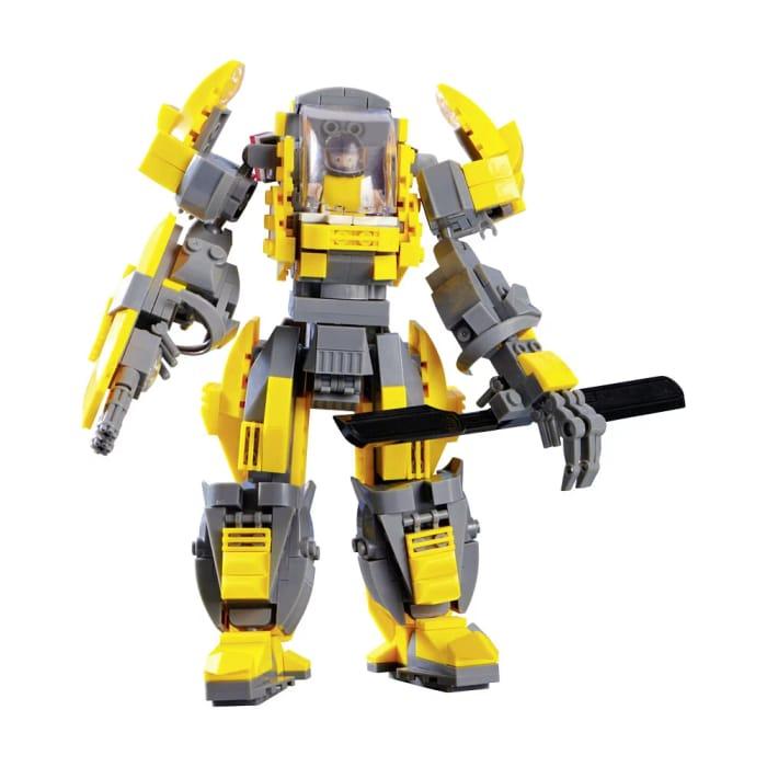 Cheap Wilko Blox 2 in 1 Robot Large Set - Save £2!