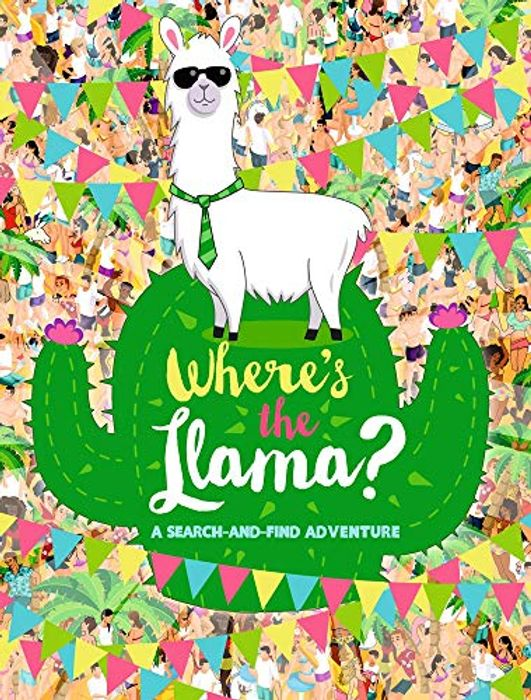 Best Price! Two for £7 Paperback Where's the Llama?: A Search-and-Find Adventure