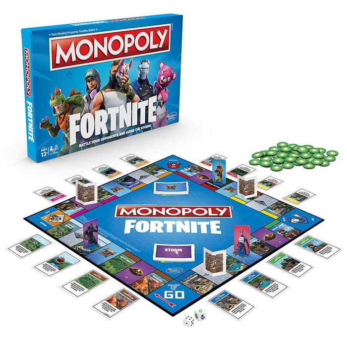 Cheap MONOPOLY - Fortnite Edition - Board Game, Only £12.74!