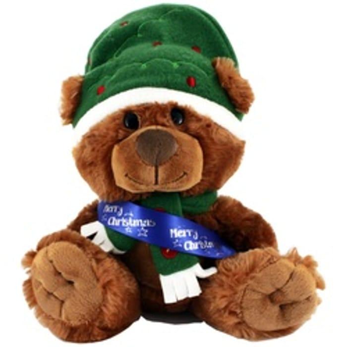 Christmas Bear with Sash