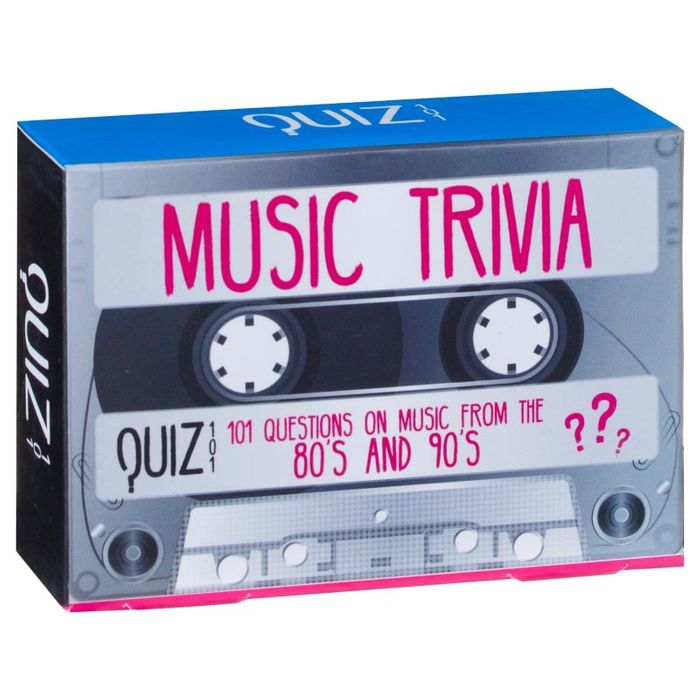Music Trivia Game - 80s & 90s