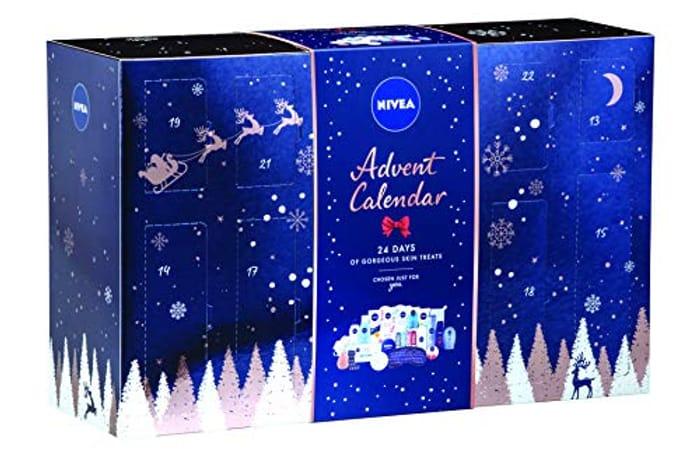 Best Ever Price! Nivea Festive Beauty Advent Calendar 2019 for Her