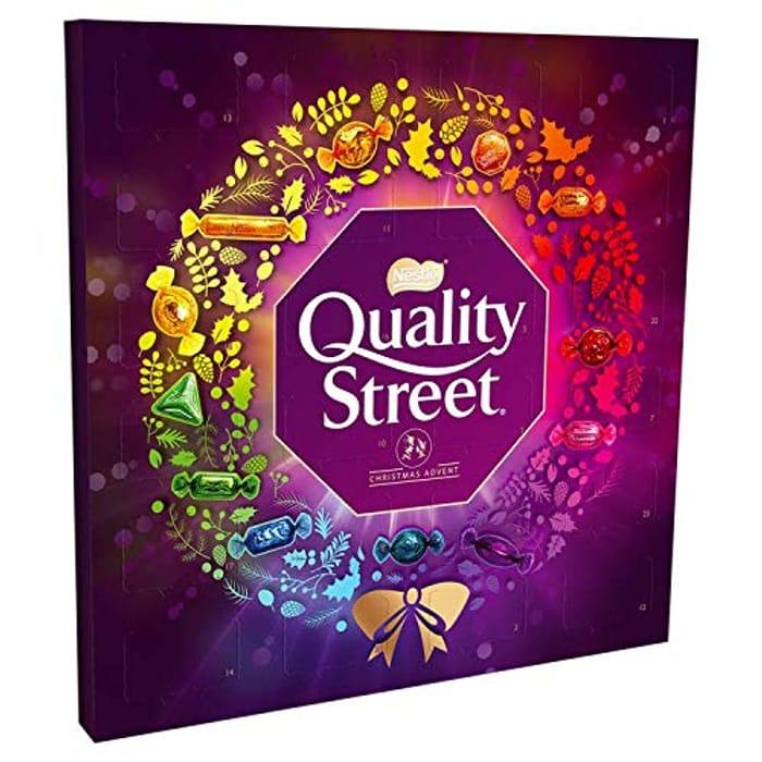 Best Ever Price! Quality Street Chocolate Christmas Advent Calendar, 222 G