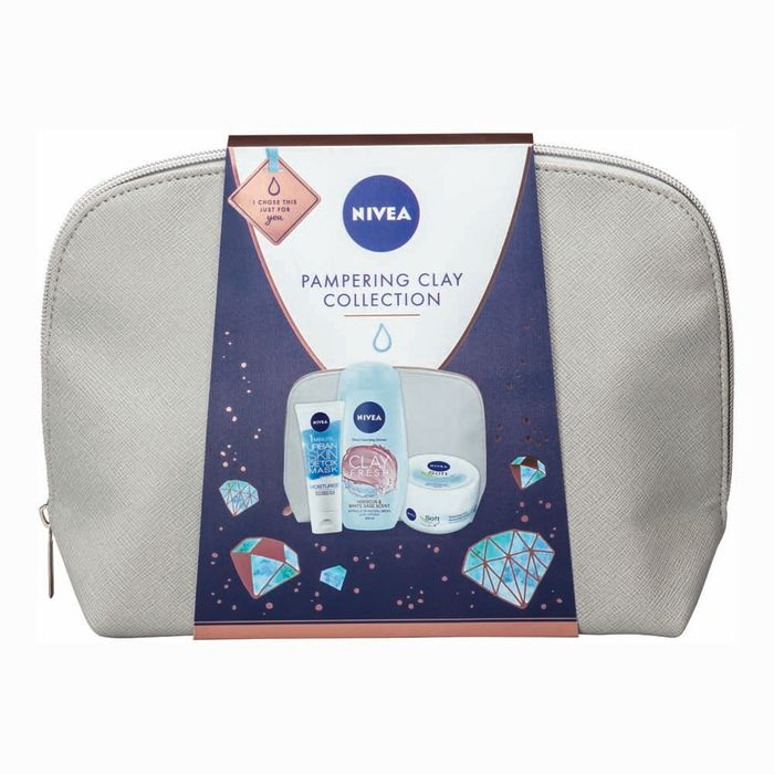 50% Off Nivea Pampering Clay Collection Gift Set