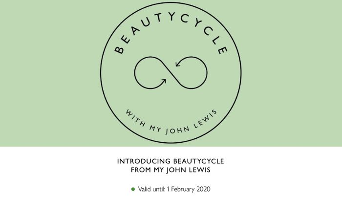 Free £5 off Your Beauty Purchase When You Recycle 5 Empty Products