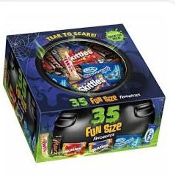 Mixed Funsize Box Halloween 602g