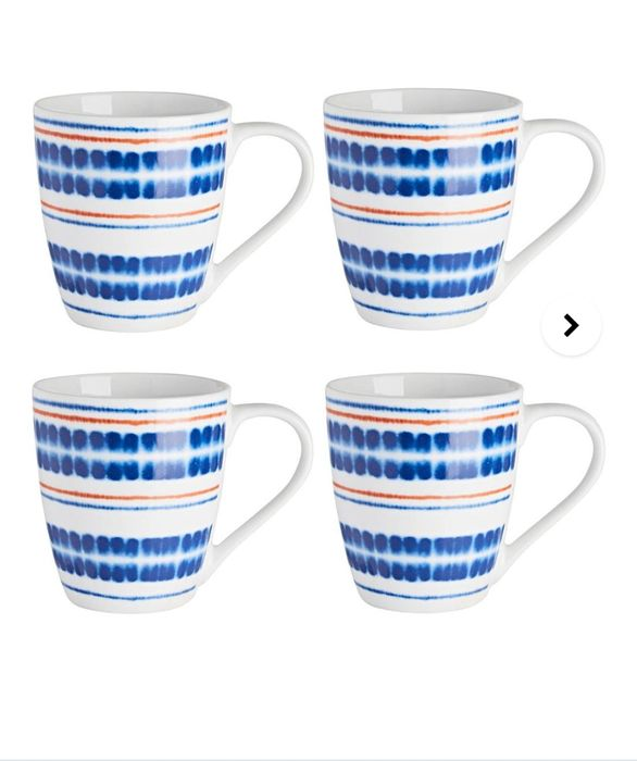 Set of 4 Portmeirion Mugs Down From £12 to £8