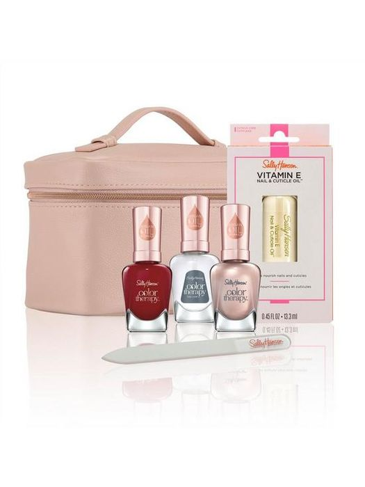 Sally Hansen Ultimate Manicure Kit with Vanity Case