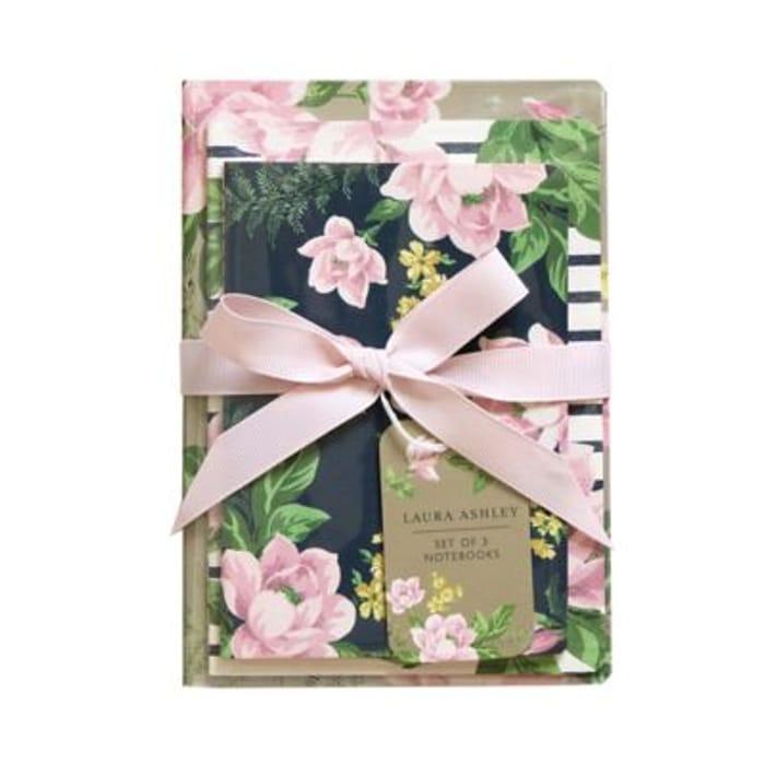 Laura Ashley Notebook Set - Save £1.63