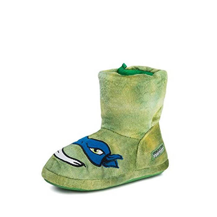 Bargain! Teenage Mutant Ninja Turtles Boys Slipper Boots at Amazon