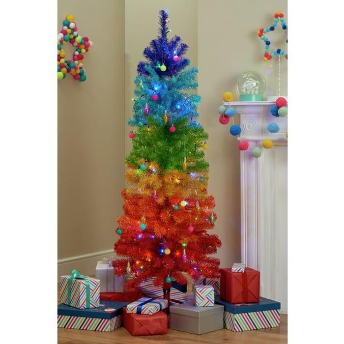 Cheap Argos Home Rainbow Christmas Tree, Only £35!