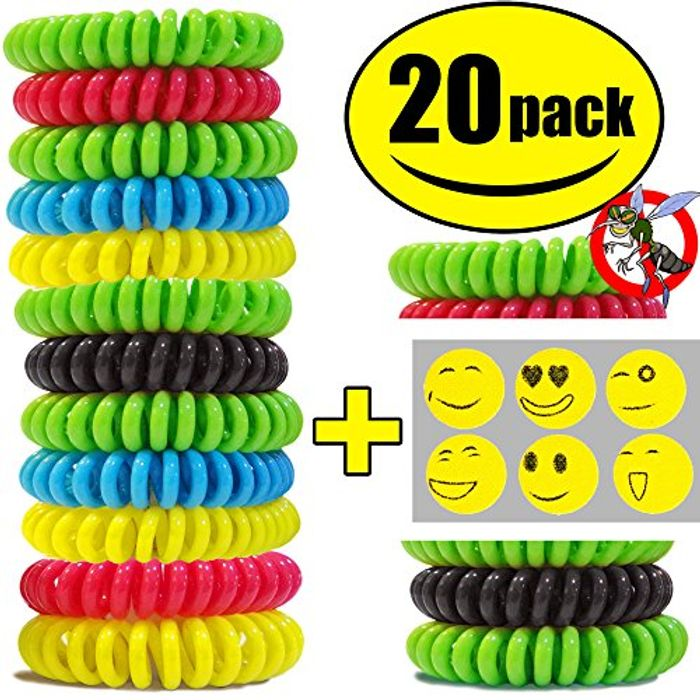 STURME All Natural Mosquito Repellent Bracelets