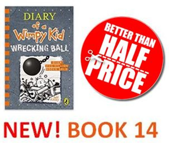 NEW! Diary of a Wimpy Kid: Wrecking Ball (Book 14)