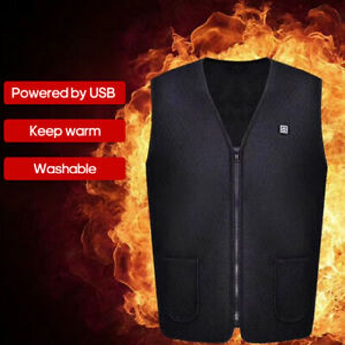 USB Charging Electric Heated Vest
