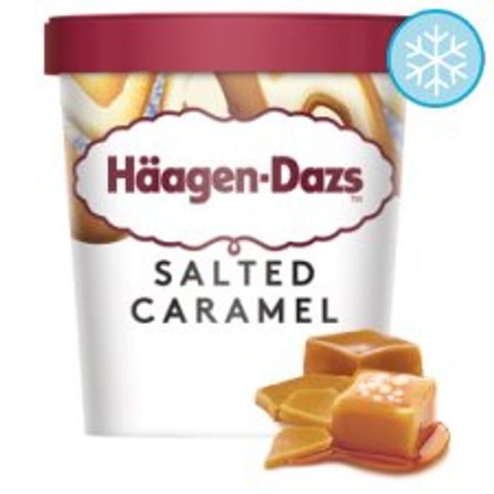 Haagen-Dazs Salted Caramel / Cookies & Cream / Vanilla Ice Cream 460Ml