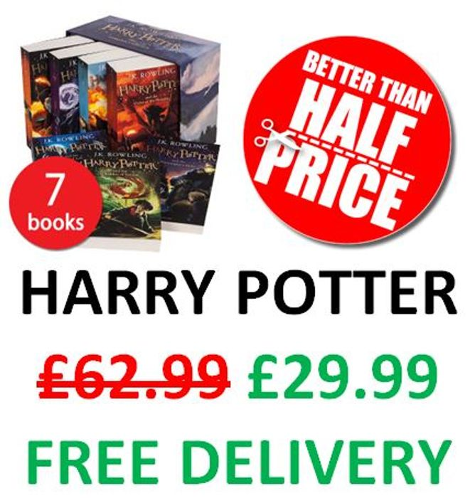 The Complete Harry Potter Collection - 7-Book Box Set