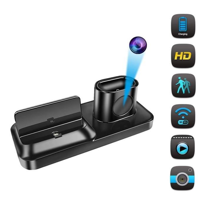 Deal Stack - Wi-Fi Hidden Camera - £5 off + Lightning Deal