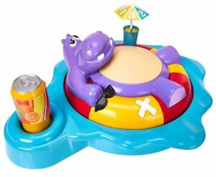 TOMY 2+ Players Fizzy Dizzy Hippo Game - 4+ Years