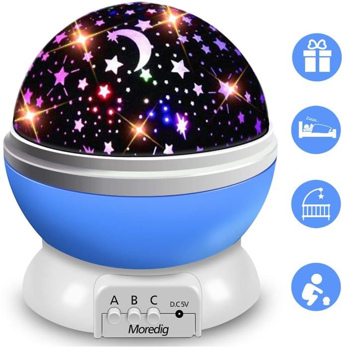 Star Projector, Night Light for Kids