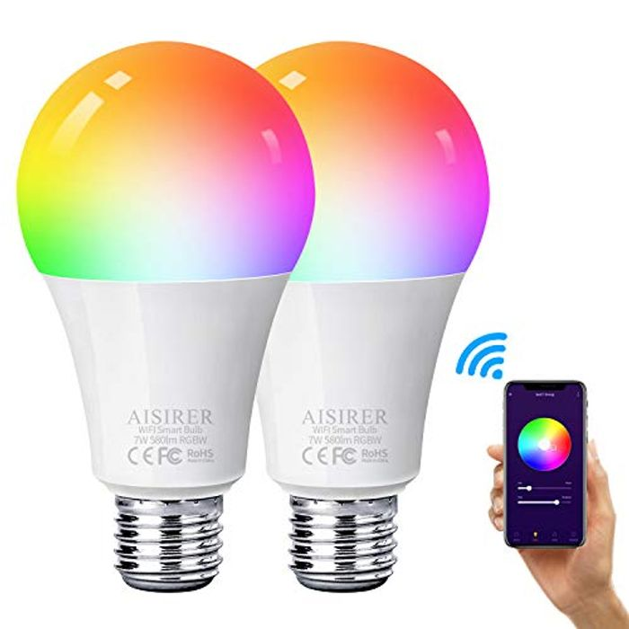 Cheap Alexa Smart Wifi Lightbulb on Sale From £23.99 to £15.59